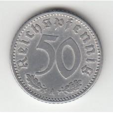 50 рейхспфеннигов, Германия, 1935