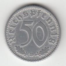 50 рейхспфеннигов, Германия, 1942