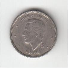 10 сентаво, Доминиканская республика, 1984
