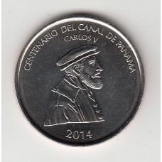 1/2 бальбоа, Панама, 2014