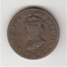 1/4 анны, Индия (Гвалиор), 1929