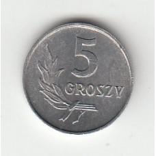 5 грошей, Польша, 1970