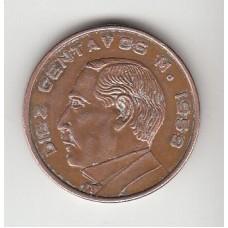 10 сентаво, Мексика, 1959