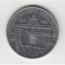 100 лир, Италия, 1981