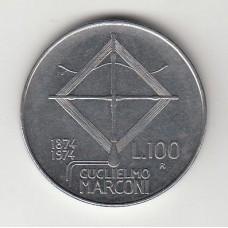 100 лир, Италия, 1974