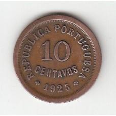 10 сентаво, Португалия, 1925