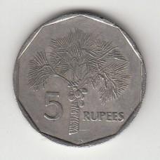 5 рупий, Сейшельские острова, 2000