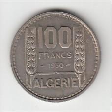 100 франков, Французский Алжир, 1950