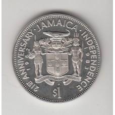 1 доллар, Ямайка,1983