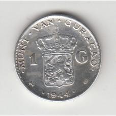 1 гульден, Кюрасао, 1944