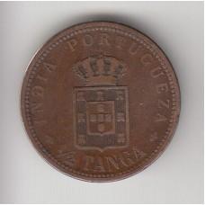 1/2 танга, Португальская Индия, 1903