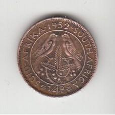 1/4 цента, Южная Африка, 1952