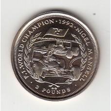 2 фунта, Остров Мэн, 1993