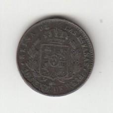 10 сентимо, Испания, 1859