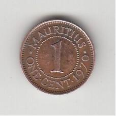 1 цент, Маврикий, 1970
