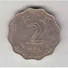 2 доллара, Гонконг, 1998