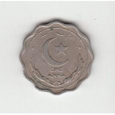 1 анна, Пакистан, 1951