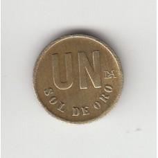 1 соль, Перу, 1980
