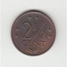 2,5 цента, Нидерландские Антильские острова, 1971