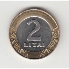 2 лита, Литва, 2008
