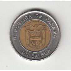 1 бальбоа, Панама, 2011