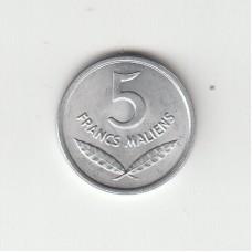 5 франков, Мали, 1961