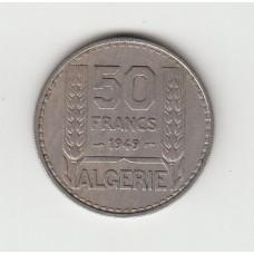 50 франков, Французский Алжир, 1949