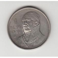 1 песо, Мексика, 1950