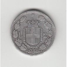 2 лиры, Италия, 1881