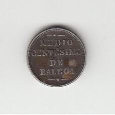1/2 сентесимо, Панама, 1907