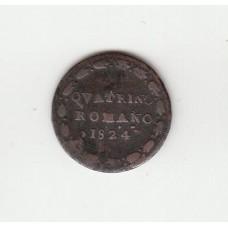 Кватрино, Папское государство, 1824