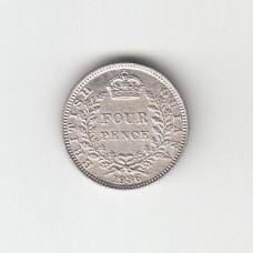 4 пенса, Британская Гайана, 1936