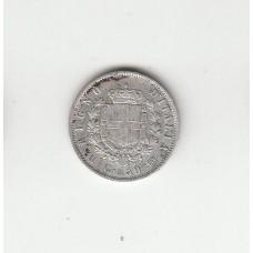 50 чентезимо, Италия, 1863