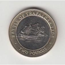 2 фунта, Гибралтар, 2006