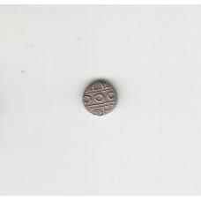 1 чукрам, Индия, Траванкор, 1860