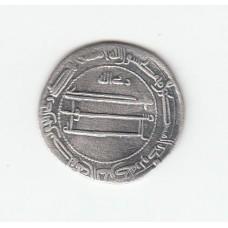 1 дирхем, Аббасиды, аль-Амин, Мухаммадия, 809