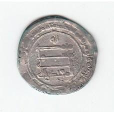 1 дирхем, Аббасиды, аль-Муктадир, Мадинат-аль-Салам, 908