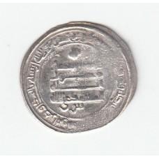 1 дирхем, Аббасиды, аль-Мутамид, Самарканд, 870