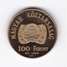 100 форинтов, Венгрия, 1998