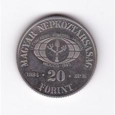 20 форинтов, Венгрия, 1984