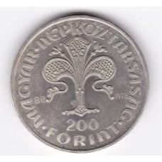 200 форинтов, Венгрия, 1978