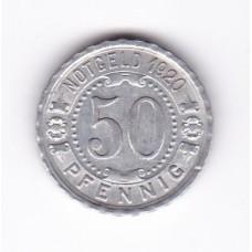 50 пфеннигов, нотгельд, Виттен, Германия, 1920
