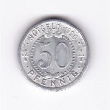 50 пфеннигов, нотгельд, Менден, Германия, 1919