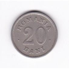 20 бани, Румыния, 1900