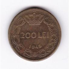 200 лей, Румыния, 1945