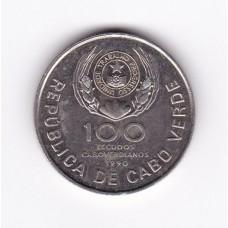 100 эскудо, Кабо-Верде, 1990