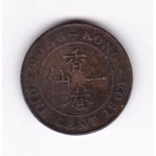 1 цент, Гонконг, 1904