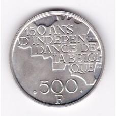 500 франков, Бельгия, 1980