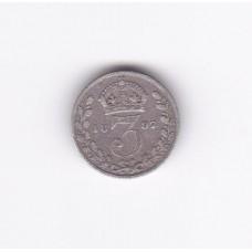 3 пенса, Великобритания, 1897