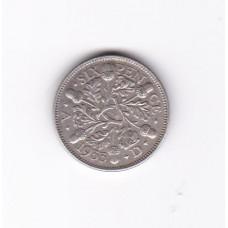6 пенсов, Великобритания, 1933